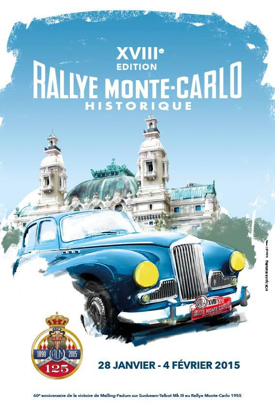 le programme du 18 rallye monte carlo historique 2015 news automobile club de monaco. Black Bedroom Furniture Sets. Home Design Ideas