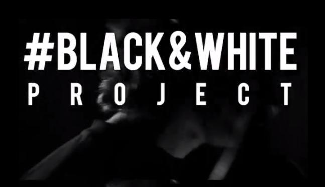 black and white project -