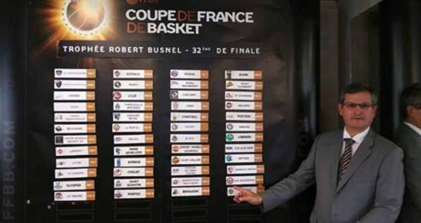 Basket tirage au sort des 1 16e de finale de la coupe de - Tirage au sort 16eme de finale coupe de france ...