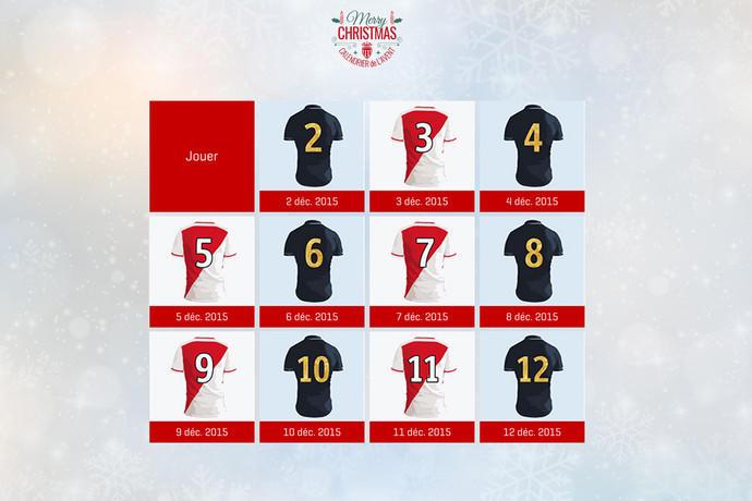 Calendrier De Lavent Football.Calendrier De L Avent De L Asm Fc News As Monaco