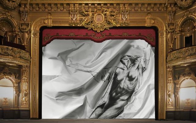 Création d\'un rideau de scène pour les Ballets de Monte-Carlo par ...
