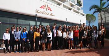 Immersion in the yachting industry for the Luxury specialization students