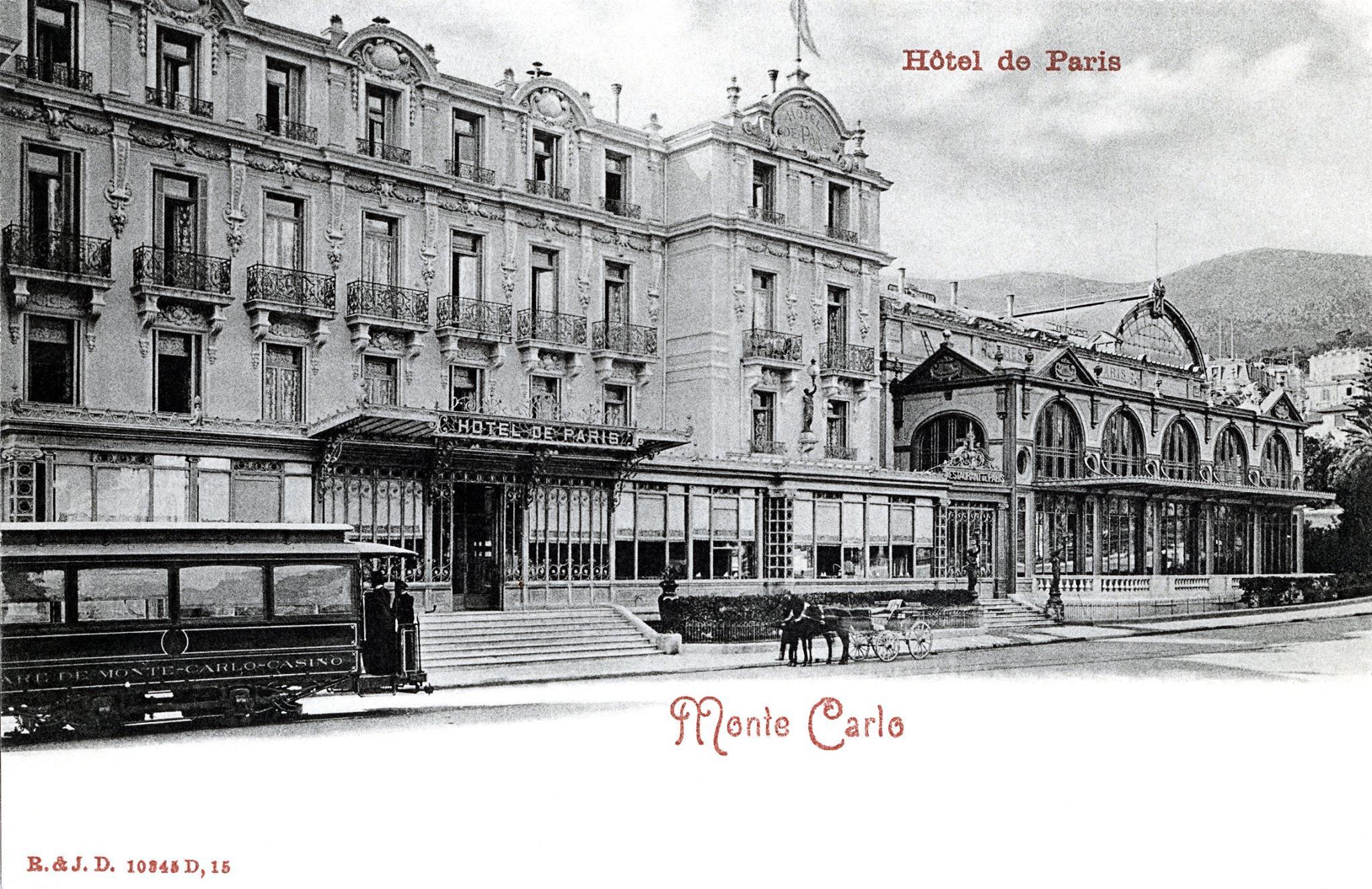 Monte carlo h tel de paris la carte postale du jour for Hotel de chaine