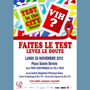 Faites le test - Fightaids Monaco / Monaco Channel Video & News Monaco
