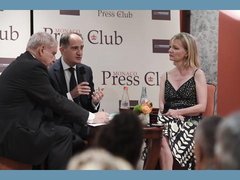 Jean Castellini invité du Monaco Press Club