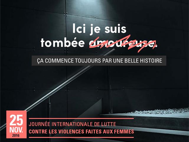 journ e internationale de lutte contre les violences faites aux femmes le 25 novembre 2016. Black Bedroom Furniture Sets. Home Design Ideas